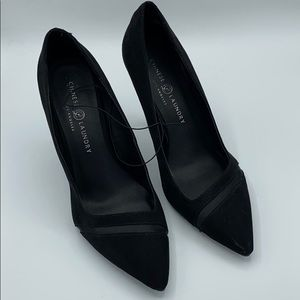 New Chinese Laundry Classic Black Pointy Heels